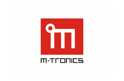 M-tronics logo