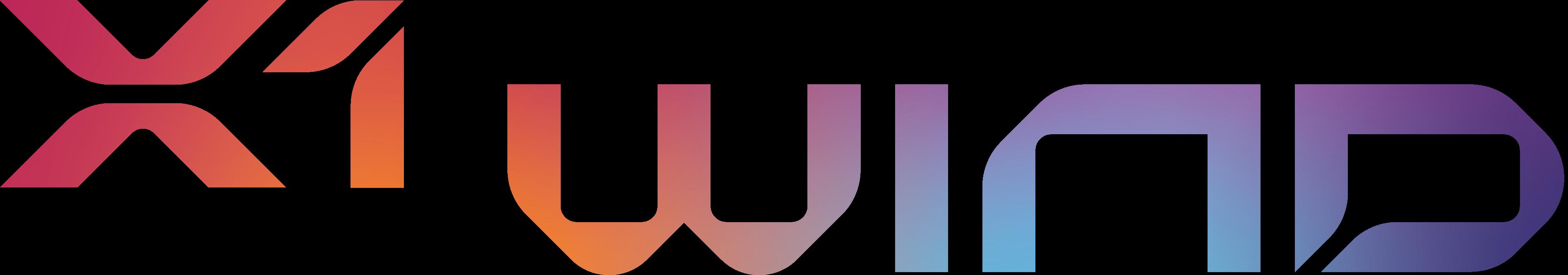 X1 Wind logo