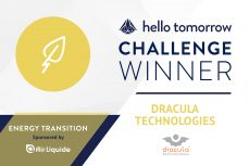 French start-up Dracula Technologies, winner of the Hello Tomorrow Challenge!