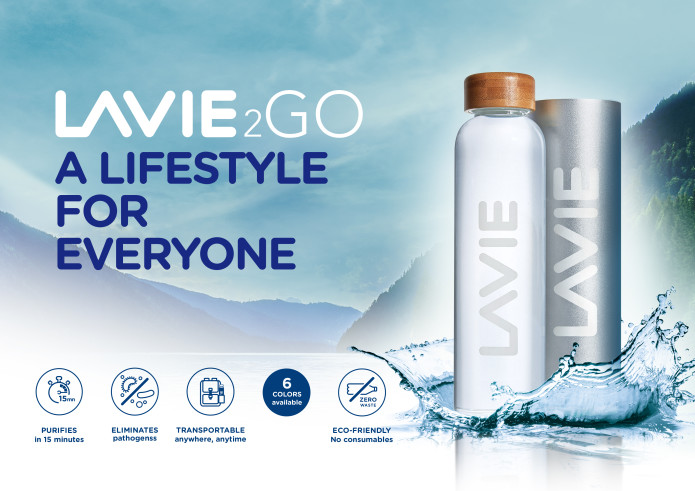 A crowdfunding campaign for LaVie 2GO by Solable