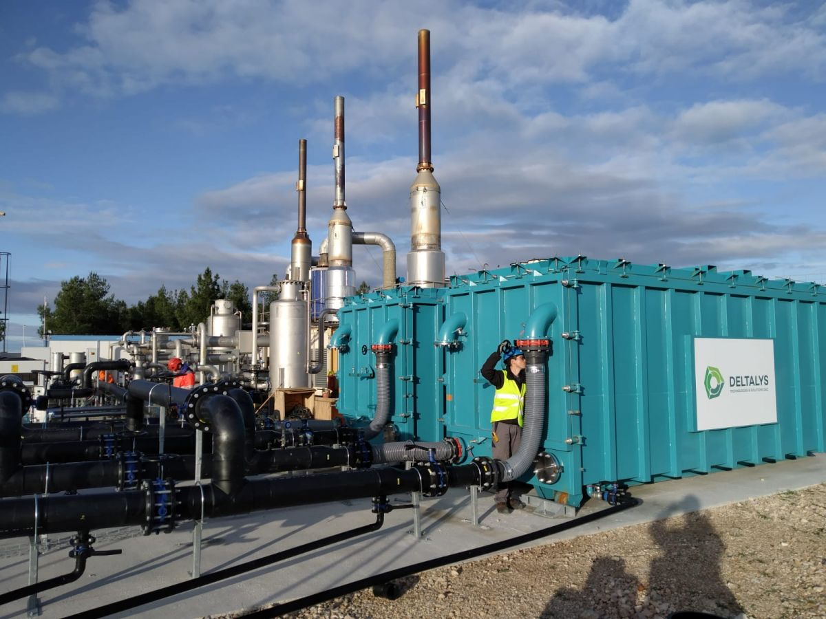 Deltalys: a turnkey solution for biogas filtration