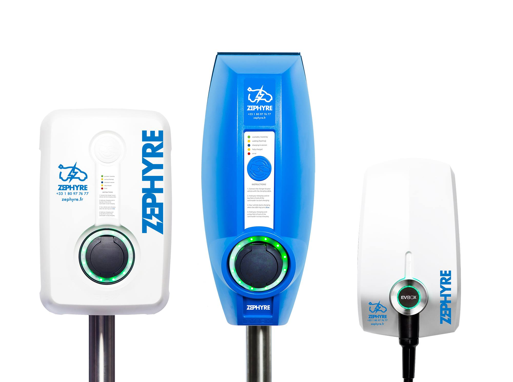Welcome to Zephyre and their custom charging station wallbox