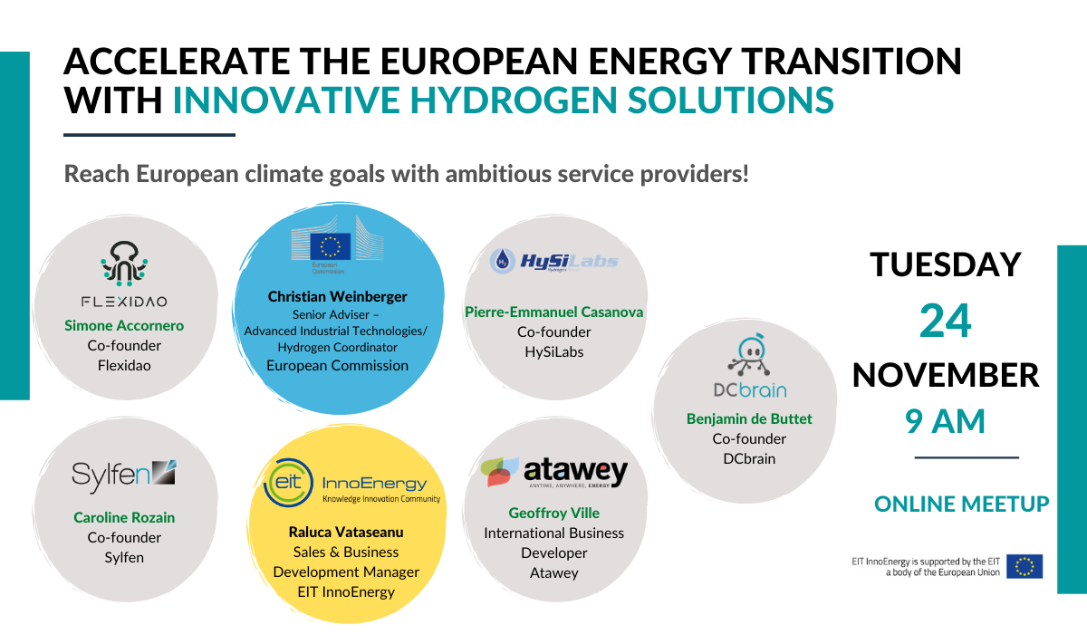 Webinar | Accelerate the European energy transition with innovative Hydrogen solutions